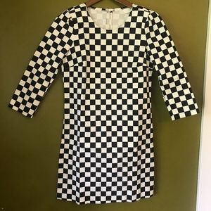 Mod Inspired ASOS Checkerboard Mini Dress